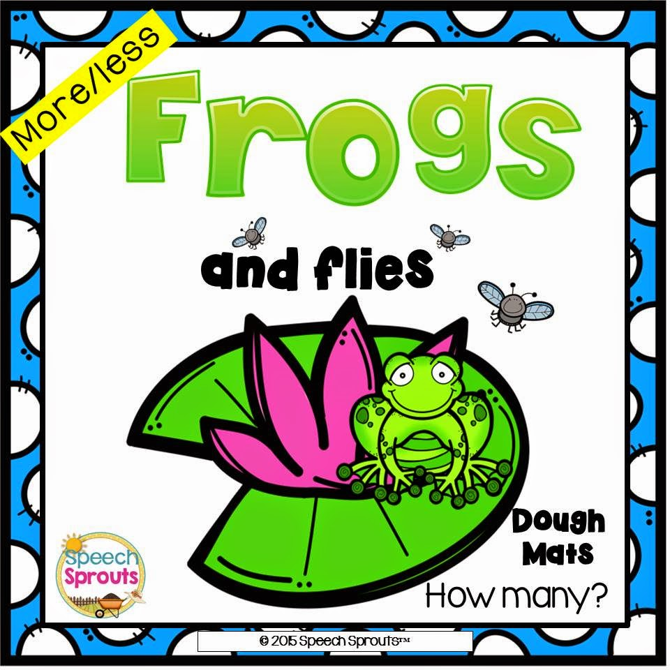 Frogs and Flies Quantity Concepts www.speechsproutstherapy.com