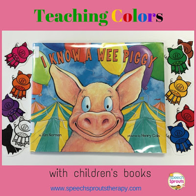 So much fun teaching colors with I Knew a Wee Piggy