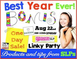 Super Speech Therapy Tips and a Bonus Sale www.speechsprouts.com