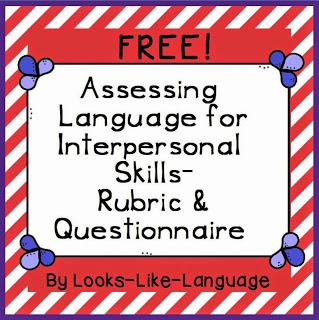 Social Skills Freebie from Looks Like Language