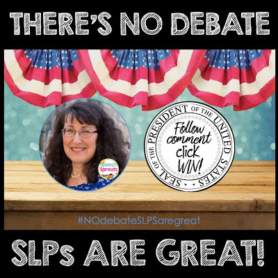 SLP's Have Superpowers- No Debate! www.speechsproutstherapy.com