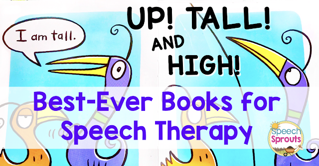 Teach basic concepts with this adorable book perfect for preschool speech therapy. Position concepts and size concepts.Includes tips for speech therapy activities to extend the lesson. www.speechsproutstherapy.com