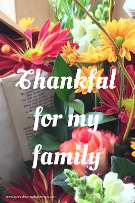 Thankful and Grateful SLP Blog Hop www.speechsproutstherapy.com