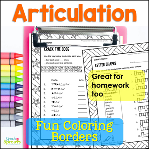 R Articulation Crack the Code printable word puzzles. Crosswords, word search too. Great for speech therapy homework too.